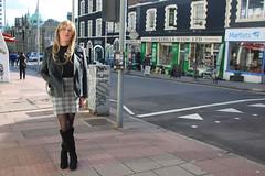Great feeling to be out again. (suedel36) Tags: pantyhose cd crossdresser crossdressing transvestite tgirl tgurl trans