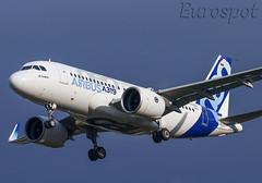 D-AVWA Airbus A319 Neo (@Eurospot) Tags: davwa airbus a319 neo 6464 toulouse blagnac