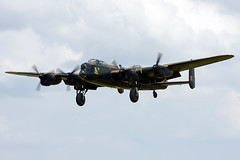 Avro 683 Lancaster B1 (Vortex Aviation Photography) Tags: outdoor aircraft aviation plane prop bomber military uk airforce airshow fairford riat 2014 avro lancaster 683 b1 bbmf warbird raf pa474