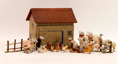 lithograph toy barn & animals ($268.80)