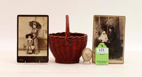 Fine Rockingham Co. Diminutive Pulled Rod Basket ($1,624.00)