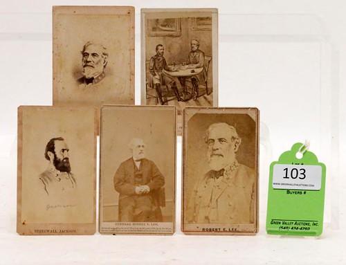 Confederate Generals Lee & Jackson ($756.00)