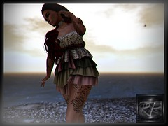 on the beach (RedPoison003) Tags: last days beach sea ocean clouds maitreya autumn redpoison003