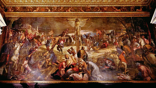 Tintoretto's Crucifixion of Christ