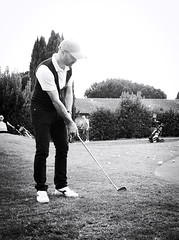 6796 - Putt (Diego Rosato) Tags: putt golf club verde green parco medici roma bianconero blackwhite fuji x30 rawtherapee