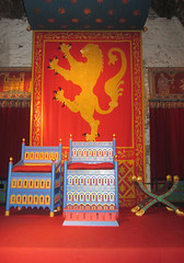 The King's Hall, Dover Castle, Kent, England (alexdavidwriter) Tags: dover kent england britain uk europe castle throneroom throne royal monarchy medieval history 12thcentury english greathall