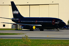 C-FYPN (Chrono Aviation) (Steelhead 2010) Tags: chronoaviation boeing b737 b737200 yhm creg cfypn
