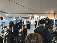 Construction celebration for affordable housing project in Langley (BC Gov Photos) Tags: bcgovernment affordablehousing selinarobinson emmausplace catalystcommunitydevelopmentssociety shepherdofthevalleylutheranchurchlangleyhousingsociety langley bchousing