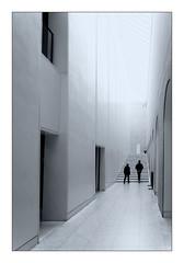 Corridor (Jean-Louis DUMAS) Tags: black bw nb white noir blanc architecte architect architectural architecture noireblanc noirblanc noiretblanc blackandwhite blackwhite blackwhitephotos monochrome architecturale copenhague copenhagen