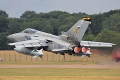 (scobie56) Tags: panavia tornado f3 ze163 hy 111 squadron tremblers raf royal air force leuchars fife scotland riat fairford
