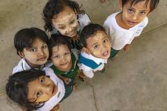 DSC_5052 (Daveoffshore) Tags: david ferguson daveoffshore daveoffshorenetscapenet myanmar people person burmese child children school uniform look down up smile happy