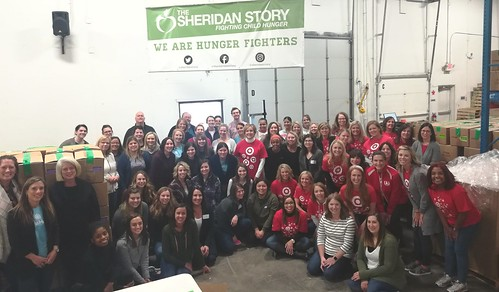 Allina Talent Acquisitions and Target Employee Relations Hotline Team Packing Event, 11/13/19