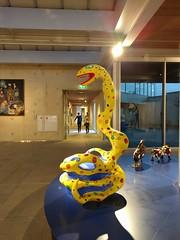 Niki de Saint Phalle @ Museum Beelden aan Zee (milov) Tags: nexus5x phonecam denhaag thehague museum beeldenaanzee exhibition nikidesaintphalle art sculpture tall