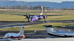 G-PRPI, Belfast City Airport (Albert Bridge) Tags: aircraft flybe dash8 belfastcityairport