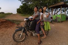 DSC_2764 (Daveoffshore) Tags: david ferguson daveoffshore daveoffshorenetscapenet myanmar people person burmese three ladies motorbike sitting ride bags
