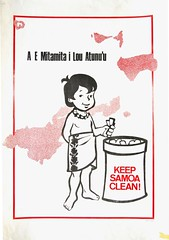A E Mitamita I Lou Atunu'u Keep Samoa Clean