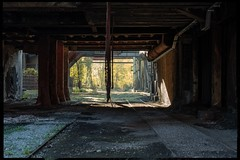 Abandoned (VintageLensLover) Tags: lostplace verlassen industrieanlage duisburg lapadu landschaftsparkduisburg rahmen sonya7iii nokton50mm voigtländer manualfocuslens
