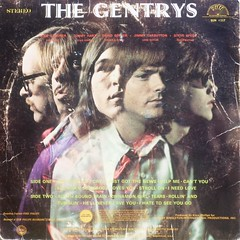 The Gentrys - Back Cover (epiclectic) Tags: 1970 thegentrys backcover