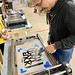 Neuland Lettering & Printing Workshop at Hamilton Wayzgoose 2019