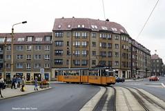 Wendezeit (1) (Maurits van den Toorn) Tags: tram tramway tranvia eléctrico villamos strassenbahn ddr gdr socialism gotha gelenkwagen nordhausen wende
