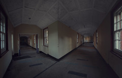 Derelict mental hospital (andre govia.) Tags: andregovia abandoned decay decayed derelict decaying hospital corridor