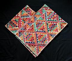 Mexico Hidalgo Nahua Quechquemitl (Teyacapan) Tags: capes mexico quechquemitl embroidery nahua hidalgo sanfranciscoatotonilco ropa clothing
