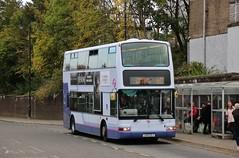 Photo of First Glasgow LK51 UZJ (33011) | Route 60 | Clydebank Bus Station, W. Dunbartonshire