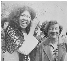 The exhilaration of restored freedom—Ericka Huggins: 1971 (Washington Area Spark) Tags: ericka huggins black panther party trial new haven ct murder kidnap conspiracy prison jail free jury deadlock charges dropped 1971