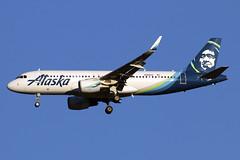 N362VA (JBoulin94) Tags: n362va alaska airlines airbus a320 washington dulles international airport iad kiad usa virginia va john boulin