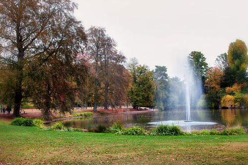 Fountain in the Park _8750