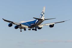 VP-BBP AirBridgeCargo Boeing 747-8 (Zhuravlev Nikita) Tags: spotting elizovo kamchatka uhpp pkc boeing 747 airbridgecargo abw