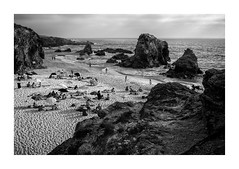 Samouqueira, Alentejo (Sr. Cordeiro) Tags: samouqueira portugal beach praia rochas rocks blackandwhite blackwhite bw pretoebranco costa coast summer verão fuji fujifilm x100