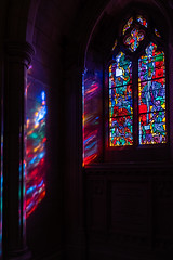 Stained Glass (edwarddwood) Tags: nationalcathedral church washington dc christianity stainedglass window color light shadow architecture building sony a7r3