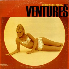 Golden Greats By The Ventures - Back Cover (epiclectic) Tags: 1967 theventures backcover bikini gold blonde chick cheesecake