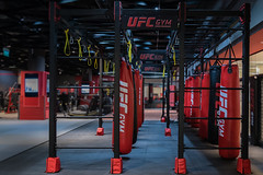 Gym (Roberto Crucitti) Tags: gym iconic icon fight fit photo creativity creative inspiration modern travel urban asia destinations geometry lines shape sony staring lightandshadow color box boxing ufc