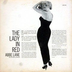 The Lady In Red - Back Cover (epiclectic) Tags: 1958 abbelane backcover cheesecake sexy