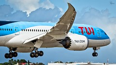 TUI | G-TUIA | Boeing 787-8 | BGI (Terris Scott Photography) Tags: aircraft airplane aviation plane spotting nikon d750 f28 travel barbados jet jetliner tui fly 7878 tamron 70200mm di vc usd g2 dreamliner
