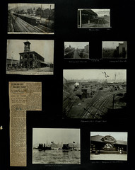 ErieLtdWestboundApproachingSuffern (barrigerlibrary) Tags: erie railroad scrapbook john w barriger iii