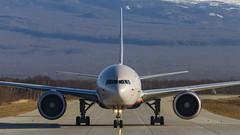 VP-BGF Aeroflot - Russian Airlines Boeing 777-300ER (Zhuravlev Nikita) Tags: spotting elizovo kamchatka uhpp pkc boeing 777 77w aeroflot afl su