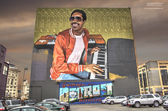 Signed, Sealed, Delivered (DetroitDerek Photography ( ALL RIGHTS RESERVED )) Tags: allrightsreserved 313 detroit downtown mural tribute singer motown icon local steviewonder painted detroitmusichalll brick wall art outdoor outside midwest usa america detroitderek hdr 3exp warrensky motorcity november 2019 canon 5d mkii digital eos delivered greetings music male legend