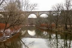 The Nicholson Bridge (Sandra Mahle) Tags: nicholsonbridge bridge viaduct tunkhannock railway historic structure november