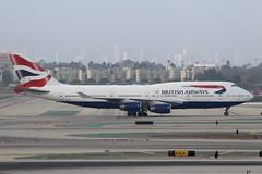 British Airways (So Cal Metro) Tags: britishairways 744 747 747400 gcivf boeing airline airliner airplane aircraft aviation airport plane jet lax losangeles la
