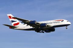 G-XLEB (JBoulin94) Tags: gxleb british airways airbus a380 washington dulles international airport iad kiad usa virginia va john boulin