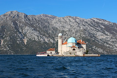 Our Lady of the Rocks - Bay of Kotor, Montenegro (russ david) Tags: our lady rocks gospa od škrpjela bay kotor roman catholic chiesa della madonna dello scarpello госпа од шкрпјела црна гора crna gora adriatic sea balkans architecture travel perast november 2018