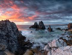 back of the hump (donnnnnny) Tags: bermagui camelrock southcoast nsw australian nikond850 sea rocks dawn