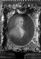 Framed portrait of Charles William Bury, Earl of Charleville (National Library of Ireland on The Commons) Tags: irishpersonalitiesphotographiccollection nationallibraryofireland personalities ireland charleswilliambury earlofcharleville charlevilletown northcork portrait ornateframe noblehouse