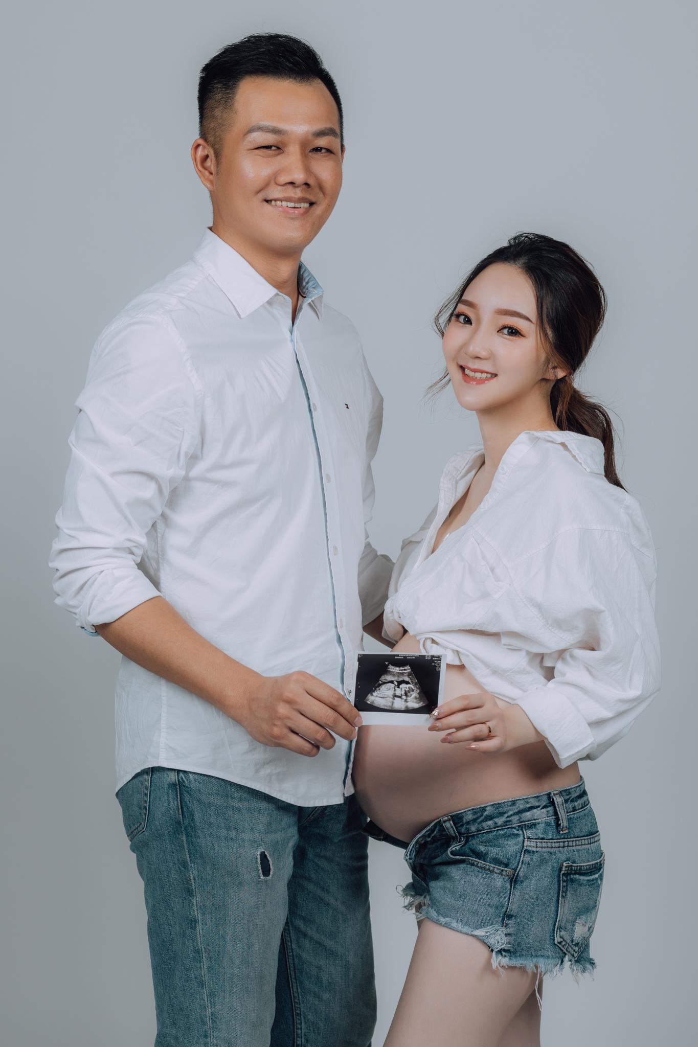 《孕婦寫真》Christine / 攝影師 Eric Yeh / 良大攝影工作室