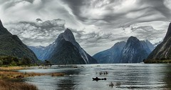Milford Sound , New Zealand