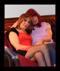 erica & amy (ericaklein8) Tags: td tv ts tg cd trans tranny transgender cute