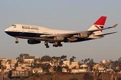 British Airways (So Cal Metro) Tags: britishairways 744 747 747400 gcivb retrojet boeing airline airliner airplane aircraft plane jet aviation airport san sandiego lindberghfield british jumbo jumbojet negus livery